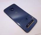 Рамка корпуса Motorola Moto Z3 Play синяя (B-сток)