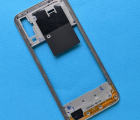 Рамка боковая Samsung Galaxy A50 (sm-a505) серебро А-сток (антенна сети)