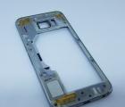 Рамка корпус метал Samsung Galaxy S6 g920v США серебро B-сток