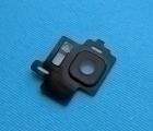 Стекло камеры Samsung Galaxy S8 чёрное