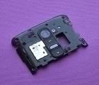Стекло камеры панель LG G2 чёрная