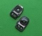 Стекло камеры Samsung Galaxy S7 чёрное