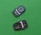 Стекло камеры Samsung Galaxy S7 Edge чёрное