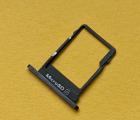 Лоток карты памяти Nokia 5 (2017) TA-1053 (2 симки) чёрный