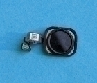 Кнопка home Apple iPhone 6s Plus чёрная (сканер отпечатка)