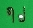Кнопка home Apple iPhone 5s белая (сканер отпечатка)