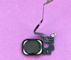 Кнопка Home Apple iPhone SE чёрная с разборки