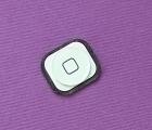 Накладка на кнопку Home Apple iPhone 5 белая