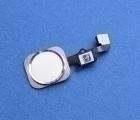 Кнопка Home Apple iPhone 6s белая с серебром оригинал