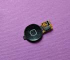 Кнопка меню home Apple iPhone 3g чёрная
