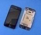 Дисплей (экран) Apple iPhone 3G чёрный (А-сток)