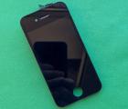 Дисплей (экран) Apple iPhone 4s чёрный (B-сток) без рамки