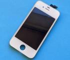 Дисплей (экран) Apple iPhone 4s белый (C-сток) без рамки