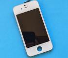 Дисплей (экран) Apple iPhone 4s белый (B-сток) без рамки