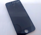Дисплей (экран) Apple iPhone 5c оригинал биток в трещинах
