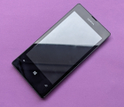 Дисплей (экран) Nokia Lumia 521 чёрный B-сток