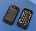 Дисплей (экран) Kyocera Hydro C5170 чёрный с разборки