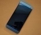 Дисплей (экран) HTC One M7 синий (А-сток)