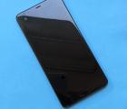 Дисплей (экран) HTC U Ultra оригинал в рамке B-сток чёрный