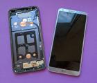 Дисплей (экран) LG G6 стекло треснутое под переклейку