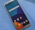 Дисплей (экран) LG G6 серебро А-сток