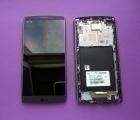 Дисплей LG V10 чёрный в рамке (B сток)