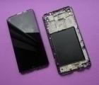 Дисплей (экран) LG V20 в рамке чёрный (А сток)