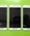 Дисплей (экран) Motorola Moto G3 белый