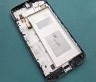 Дисплей Motorola Moto G4 чёрный в рамке (А сток) - фото 2