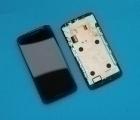 Дисплей (экран) Motorola Moto X Play / Droid Maxx 2 чёрный - изображение 2