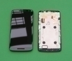 Дисплей (экран) Motorola Moto X Play / Droid Maxx 2 чёрный - изображение 3