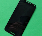 Дисплей (экран) Motorola Moto X Style чёрный оригинал восстановленный