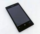 Дисплей (экран) Nokia Lumia 521 чёрный A-сток