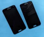 Дисплей (экран) Samsung Galaxy S5 чёрный А-сток оригинал