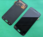 Дисплей (экран) Samsung Galaxy S7 чёрный A-сток оригинал