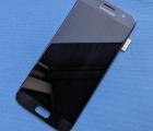 Дисплей (экран) Samsung Galaxy S7 чёрный B-сток оригинал (есть выгорания)