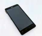 Дисплей (экран) HTC Vivid 4g (Raider 4g) чёрный