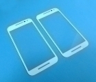 Стекло экрана (линза) Motorola Moto G3 белая - изображение 2
