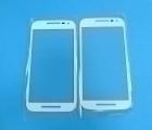Стекло экрана (линза) Motorola Moto G3 белая - изображение 3