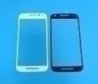 Стекло экрана (линза) Motorola Moto G3 белая
