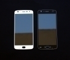 Линза (стекло) Motorola Moto Z2 Play белая