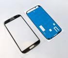 Линза (стекло) Samsung Galaxy S4 чёрное