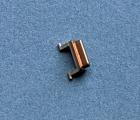 Кнопка блокировки металлическая Apple iPhone 11 Pro Max золотая