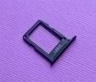 Сим трей Samsung Galaxy A6 (2018) A600 чёрный