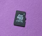 Флеш карта MicroSD 2gb 4 class