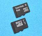 Флеш карта microSD 8gb 2 class