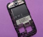 Средняя часть корпуса HTC myTouch 4g HD стекло камеры