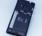 Средняя часть корпуса Nokia Microsoft Lumia 535 стекло камеры