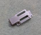 Накладка фиксатор верхнего шлейфа Apple iPhone 6s металлическая