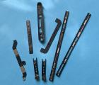 Корпусные панели набор BlackBerry Keyone B-сток чёрные